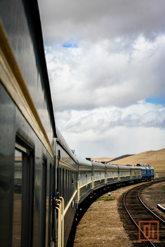 Train in mongolia