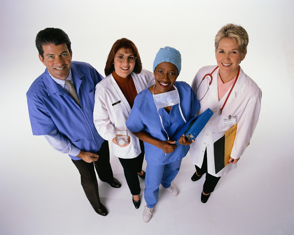 Friendly Medical professionals
