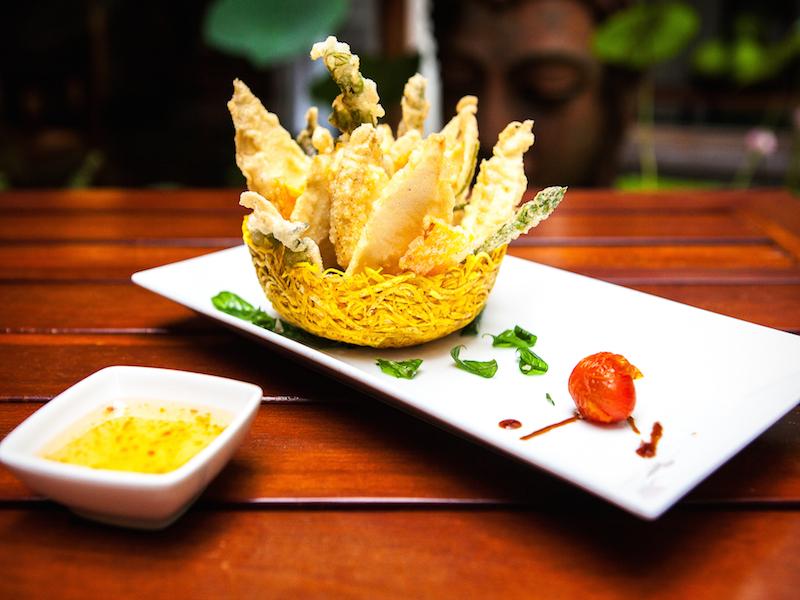 Hum restaurant - fried vegie