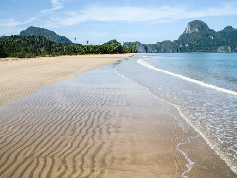 Beach at El Nido, Palawan Island - James Pham