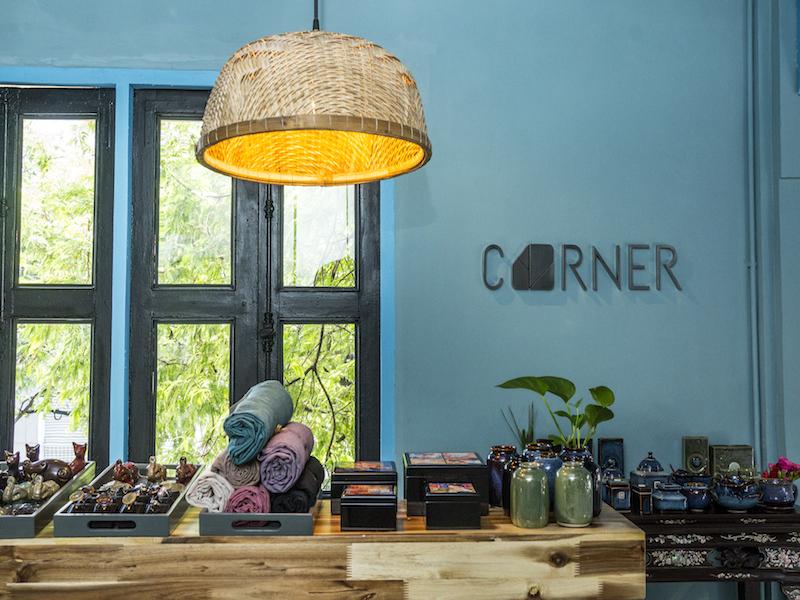 Corner boutique