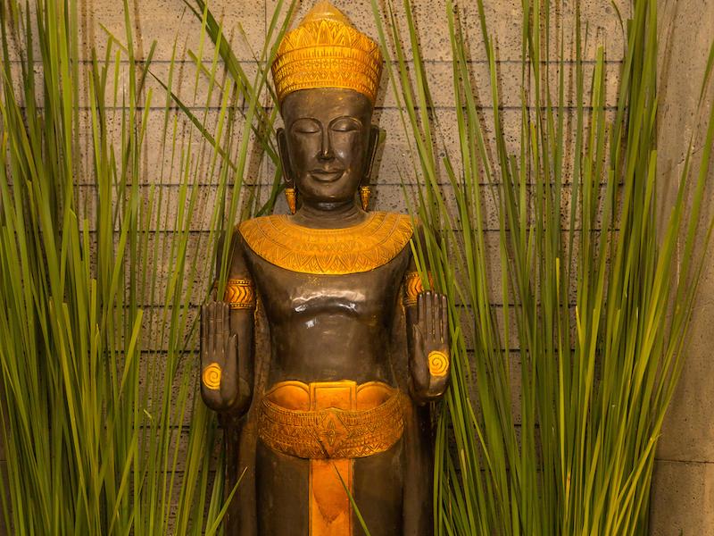 Shrine - statue