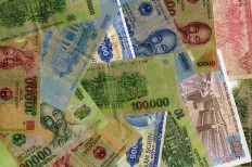 Vietnam Banknotes (dongs) Background