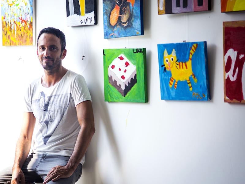 Ignacio de Grado, owner:instructor Grado art studio