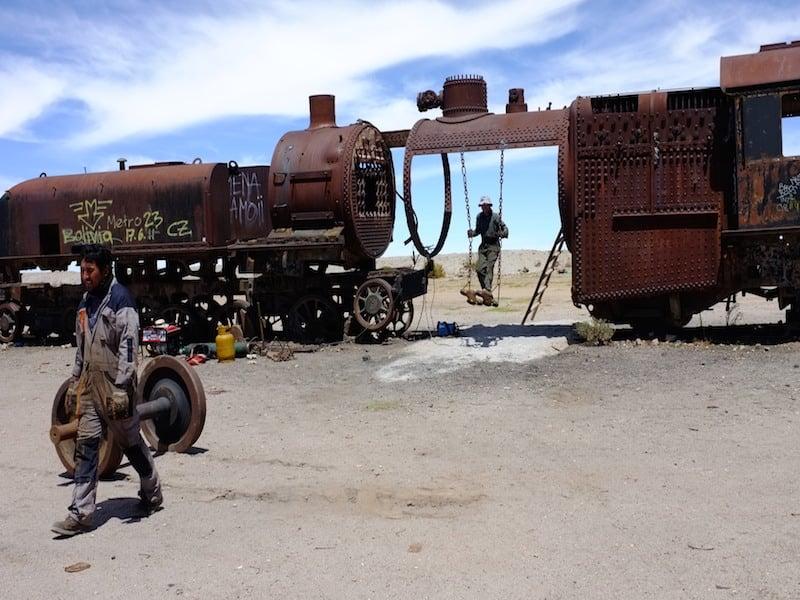 Train cemetery 1