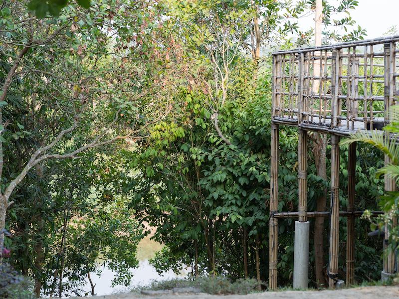 Cat Tien national park.- Ta Lai long house 2