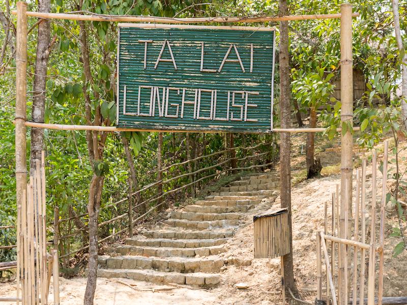 Cat Tien national park.- Ta Lai long house