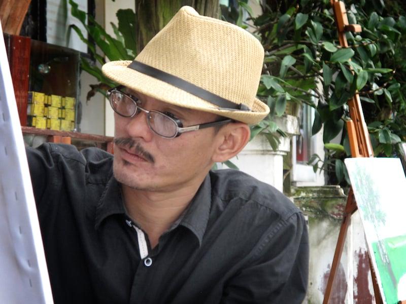 Truc Chi pulp art -Phan Hai Bang