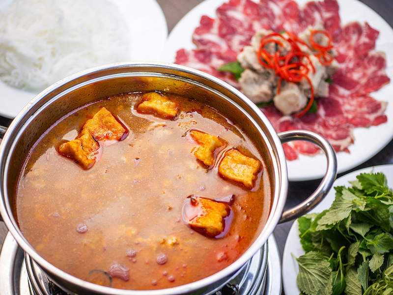 Red Brick _northern style freshwater crab hot pot with beef shank and baby ribs1NT