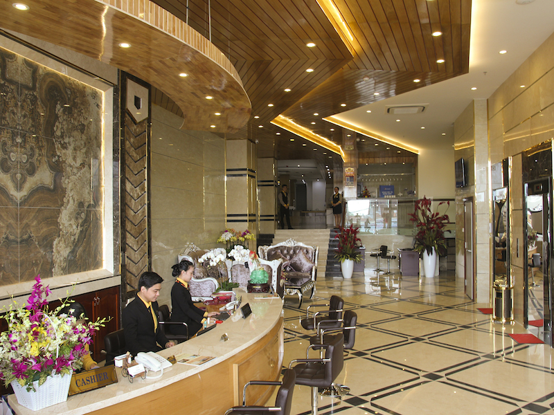 West Hotel CanTho lobby
