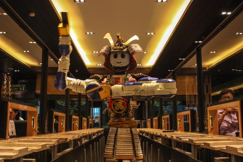 Hajime Robot Restaurant - Dancing Gangnam Style 1 - James Pham-19