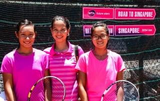 Tran Thuy Thanh Truc, Nguyen Thi Kieu My and Nguyen Thu Phuong -WTA Qualifying Future Stars - Vietnam - Image by James Pham-20 (OiVietNam_3N)