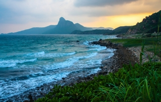 Coastal road on Con Dao's south side  - Image by James Pham-53 (OiVietNam_3N)