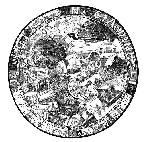 Saigon Compass