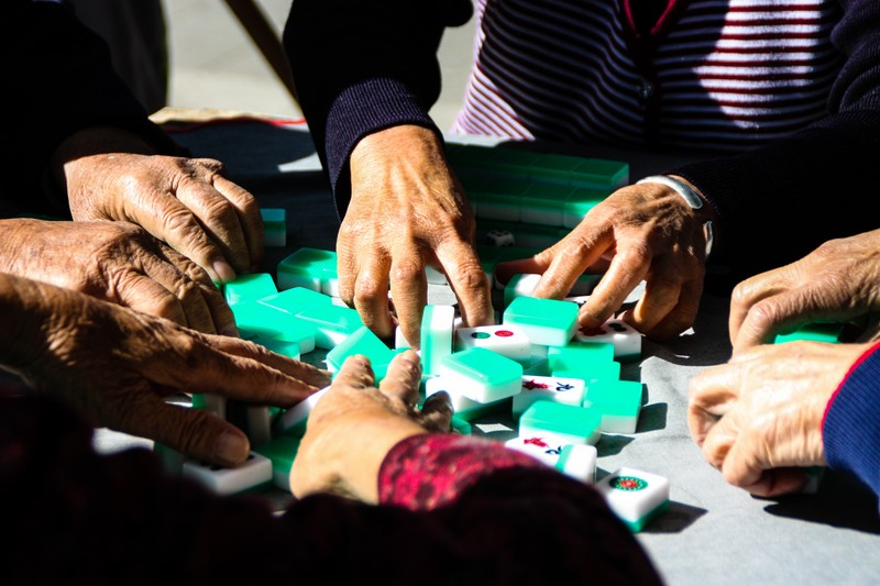 Mahjong in the park - Image by James Pham-31 (OiVietNam_3N)