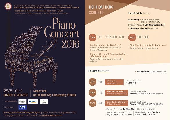 Piano concert review essay