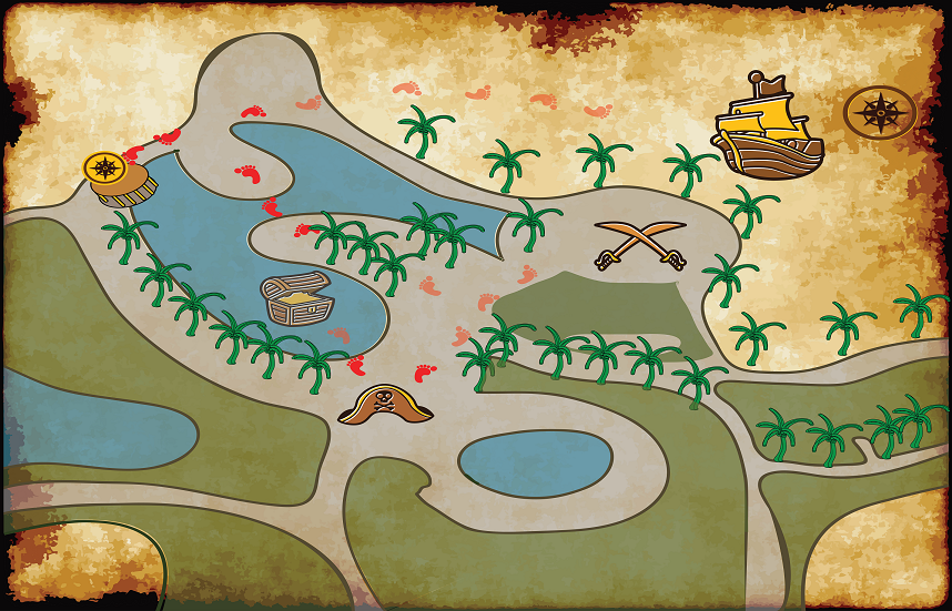 rsz TGW - TREASURE HUNT MAP