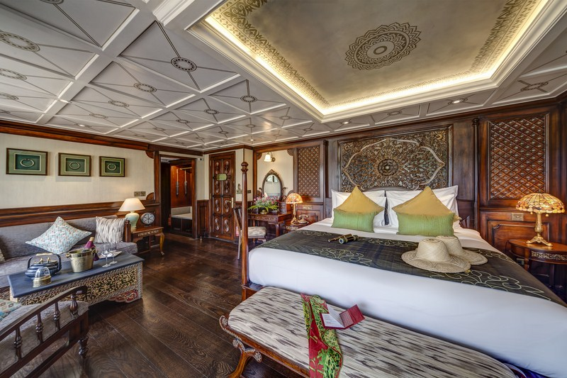 Junior Suites aboard the Anawrahta - Image provided by Heritage Line (OiVietNam_3N)