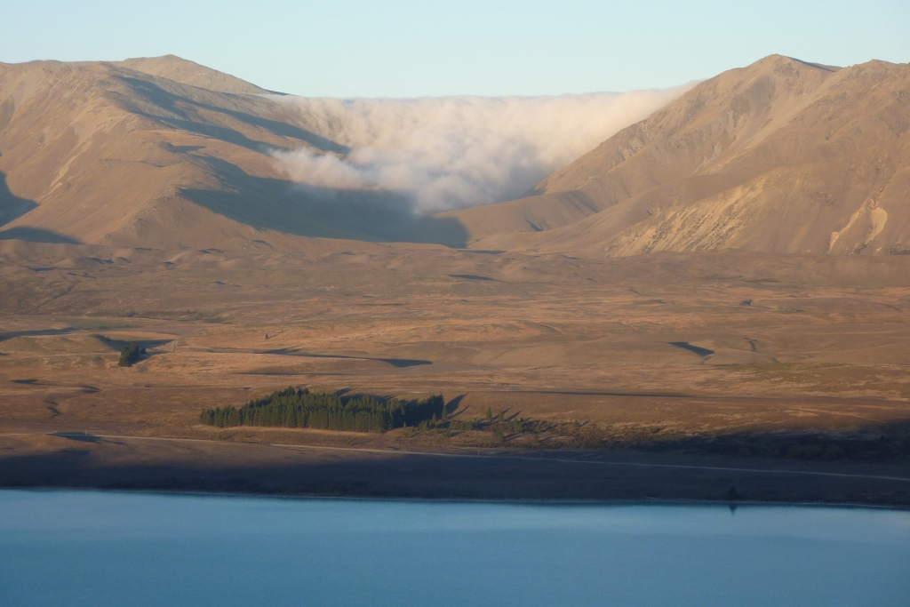 Lake Alexandrina - view from Mt John
