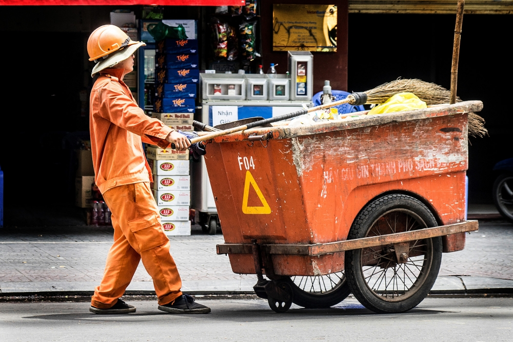My life as… a street cleaner