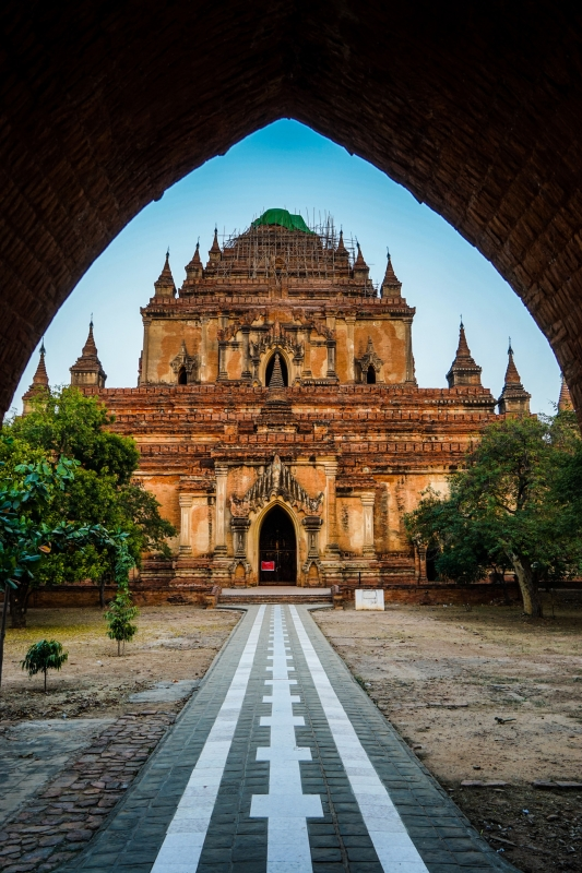 Myanmar - Bagan - Sulamani Pagoda - Image by James Pham-2