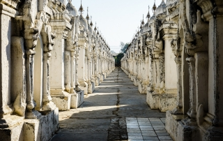 Myanmar - Mandalay - Kuthodaw Pagoda - Image by James Pham-2