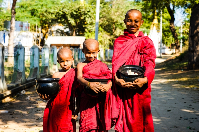 Myanmar - Salay - Youke Sone Kyaung - Image by James Pham-36