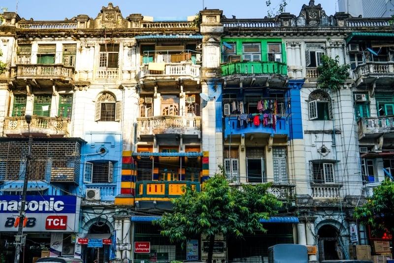 Myanmar - Yangon - Pandosan Street - Image by James Pham-5