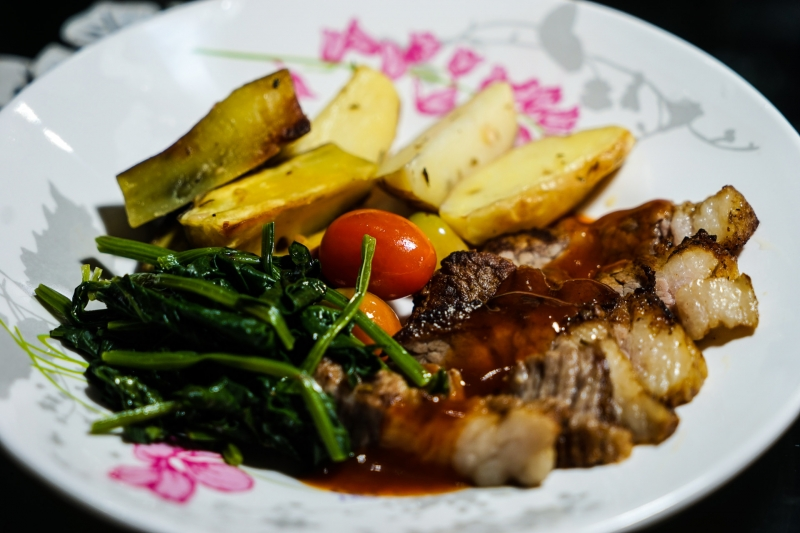 FitMeal VN - Beefsteak with BBQ Sauce - Image by James Pham-3