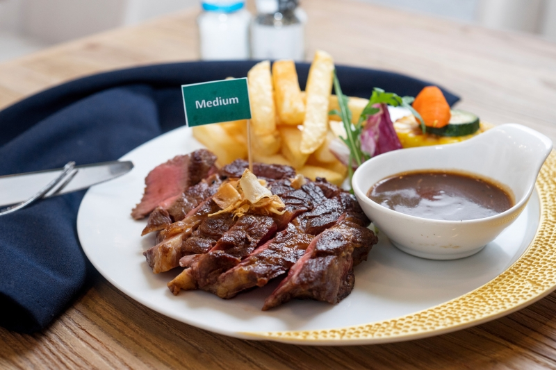 Oi Vietnam-June2017_ember_USA rib eye steak with spinach, bacon & mushroom side_DSC0344_NT