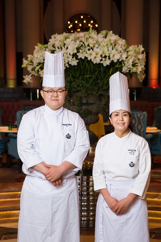 Korean Chefs - Hwa Sook Lee and Young Joon Yun