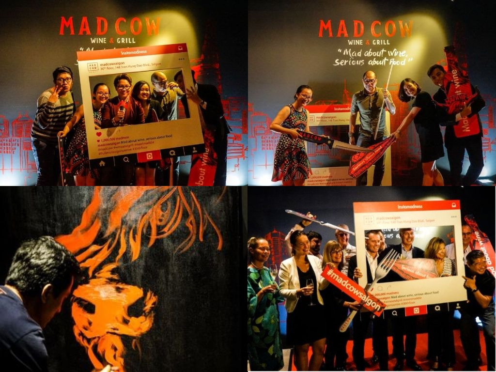 Mad Cow - Collage - Pullman Hotel - Image by James Pham