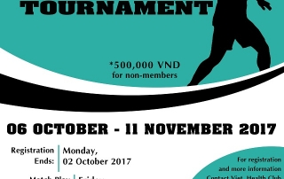 Squash Tournament 2017 - Announcement