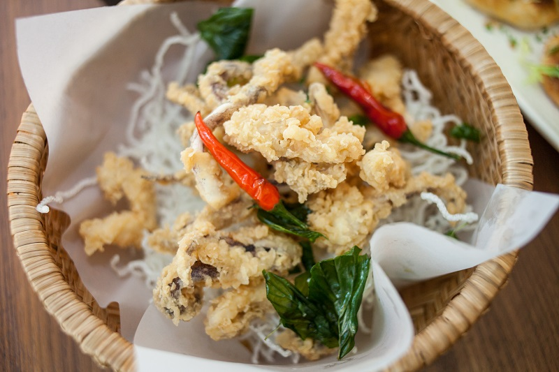 Oi VietNam - Renaissance - Crispy fried octopus - May 2018 - IMG_7210