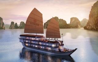 Heritage Line - LH Ginger Ship