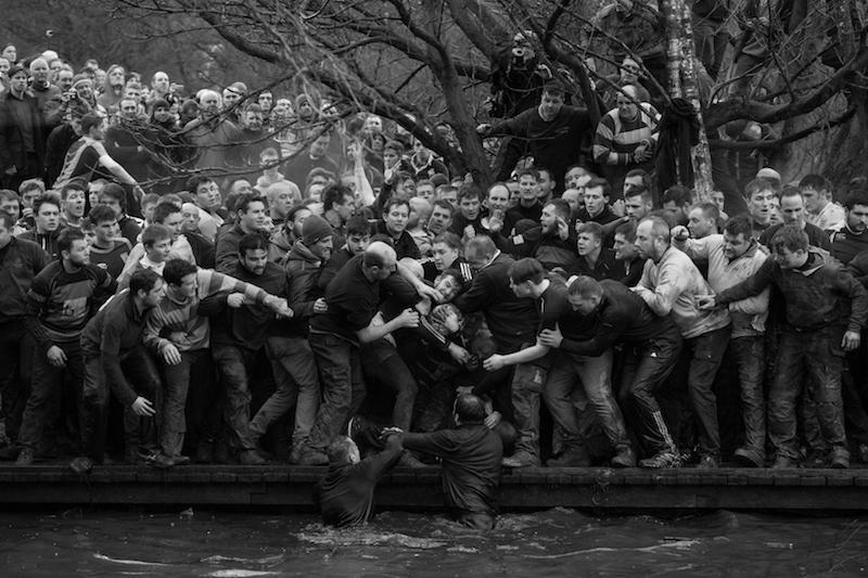 Royal Shrovetide Football - Oliver Scarff