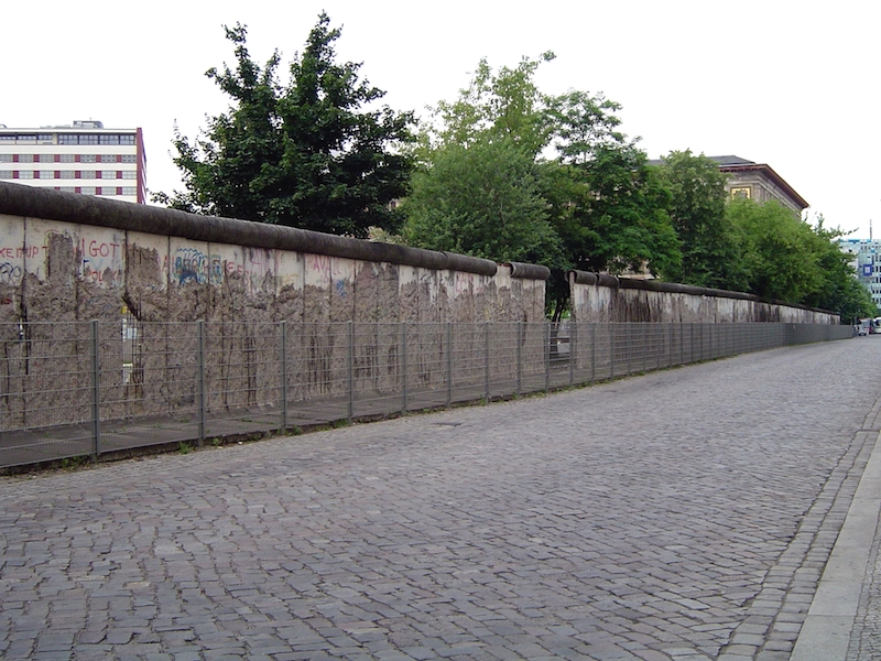 a piece of the Berliner Wall
