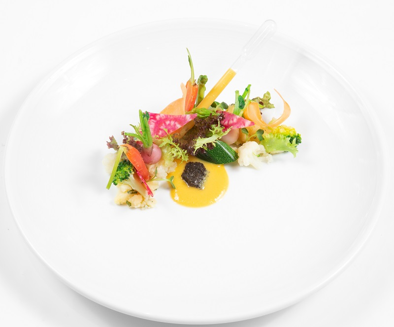 GIARDINO (Organic vegetable selection, sicilian orange, summer truffle)