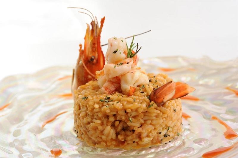 Risotto Ai Frutti Di Mare (Carnaroli rice, seafood, extra virgin olive oil)