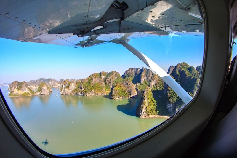 Scenic Seaplane Flight over Halong Bay - Image supplied by Hai Au Aviation - - HAA_M2_ (236)