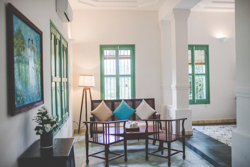 Colonial Suite - Living area