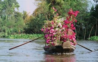 Flower boat