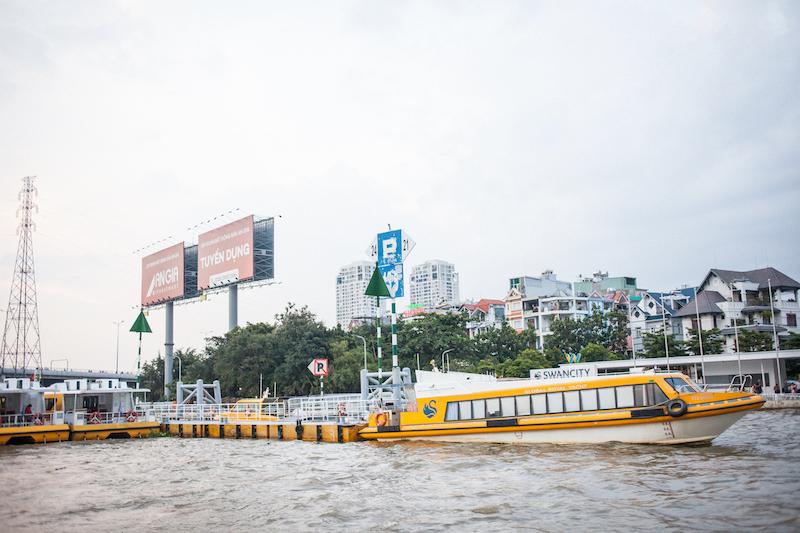 Oi VietNam - Saigon River - Water taxi - November 2018 - IMG_1555