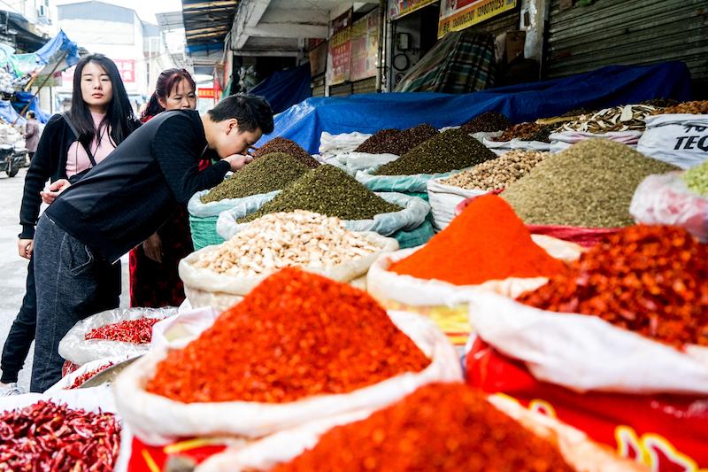 03a - Wukuaishi Wholesale Spice Market