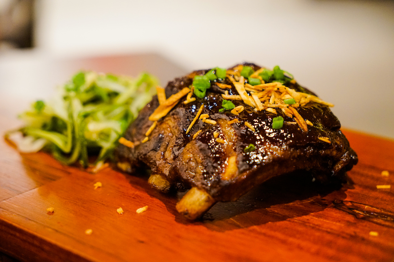 Iberico Ribs at Art Space - Image by James Pham