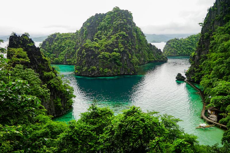 View from Kayangan Lake - Image by James Pham-4