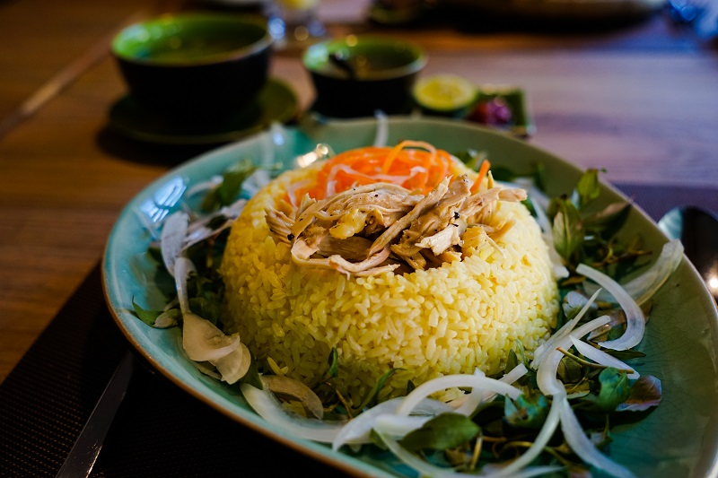 Hoi An - Spice Viet Restaurant - Chicken Rice - Image by James Pham-1