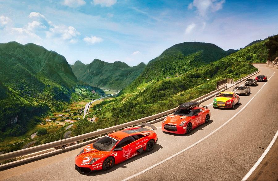 Dragonball Destination F1 Supercar Road Trip